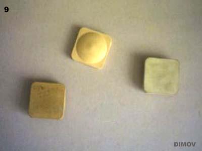 Каучукови почистващи елементи с твърдост 44 и 56 по Шор (с различна твърдост).
